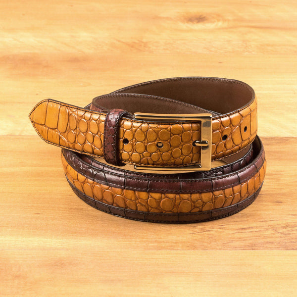 Deon Croc Venice Belt - Q by QS