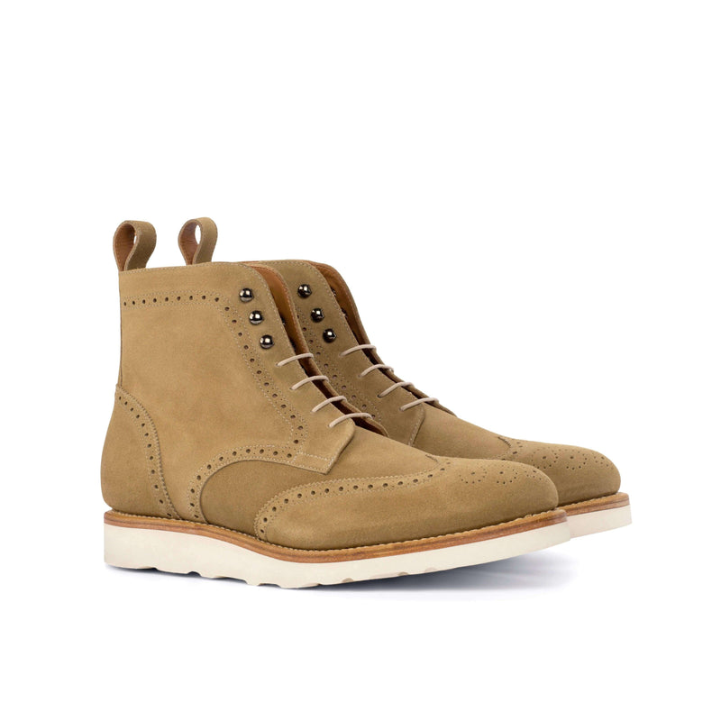 21 Military Brogue Boots - Q by QS