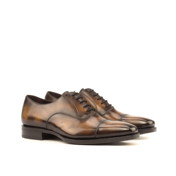 Jeriko Oxford Patina Shoes - Q by QS