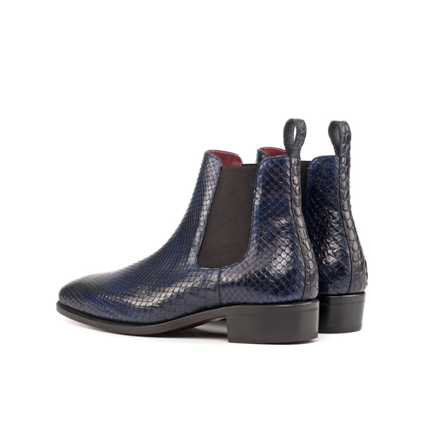 James B Python Chelsea Boots - Q by QS