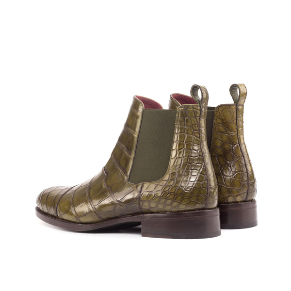 Pepper Alligator Chelsea Boots
