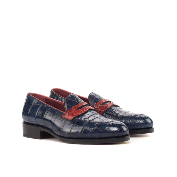 Toni Alligator Loafers