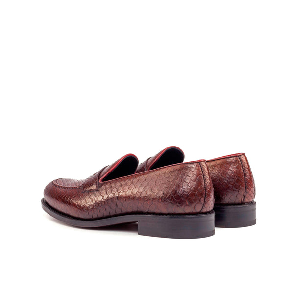 Lenos Python Loafers
