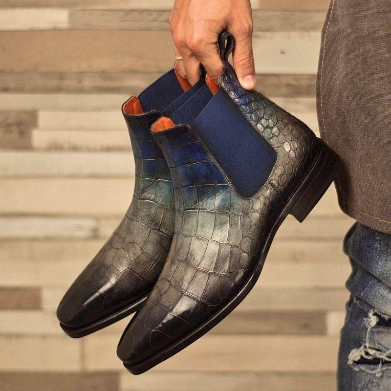 Cina Patina Chelsea Boots - Q by QS