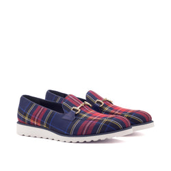 Johnny windowpane Loafers - Q by QS