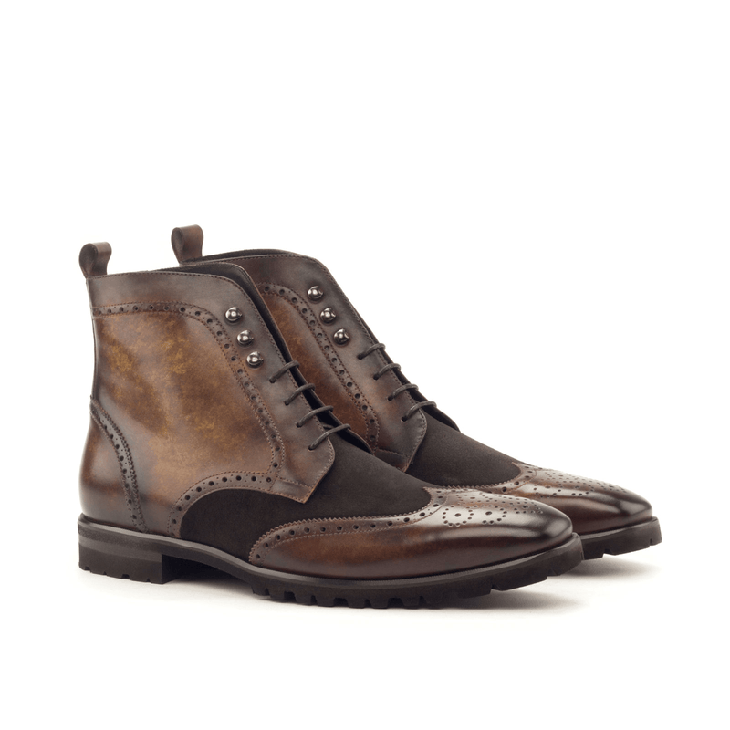 Theron Military Brogue Boots