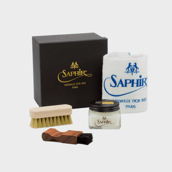 Saphir Premium Leather Care Kit - Q by QS