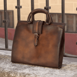 Casablanca brief case - Q by QS
