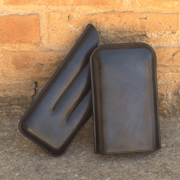 Jappo Tripple Cigar Case - Q by QS