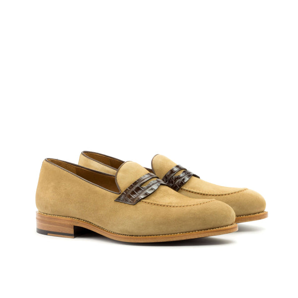 Bion Alligator Loafers - Q by QS
