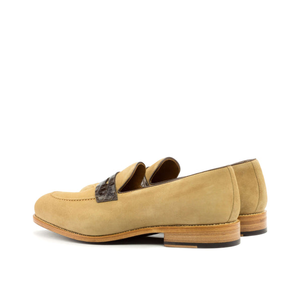 Bion Alligator Loafers