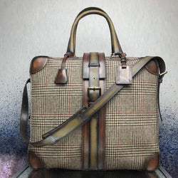 Santorini travel tote - Q by QS
