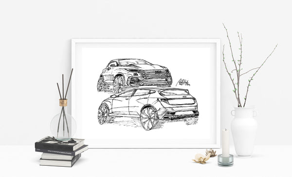 Audi Car Digital Download File