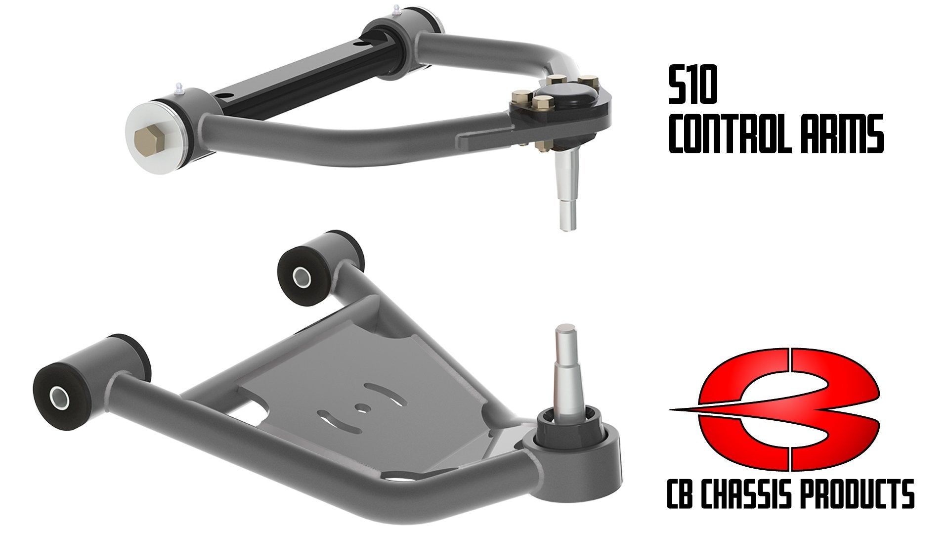 S10 Front Air Control Arm Set