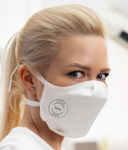 Load image into Gallery viewer, INTERCEPT CU22 Mask, Adult, in White, Single Set