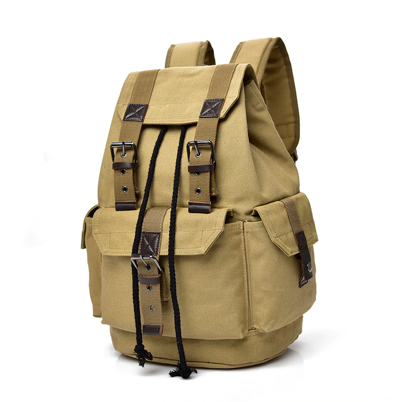 Dakota Vintage Canvas Backpack