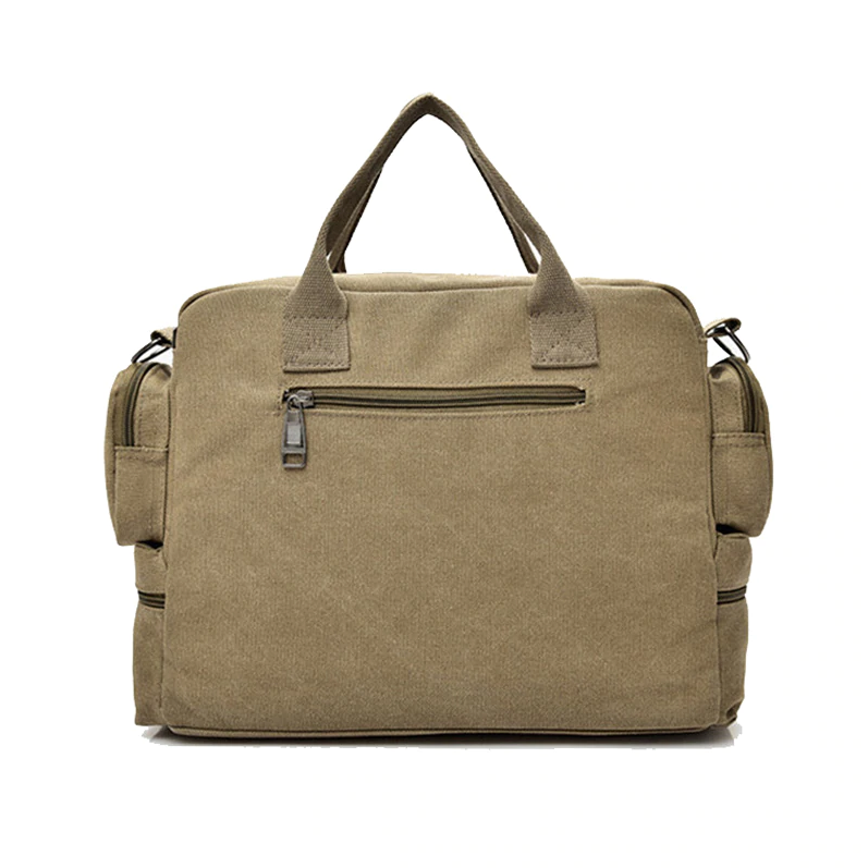Denver Canvas Messenger Bag