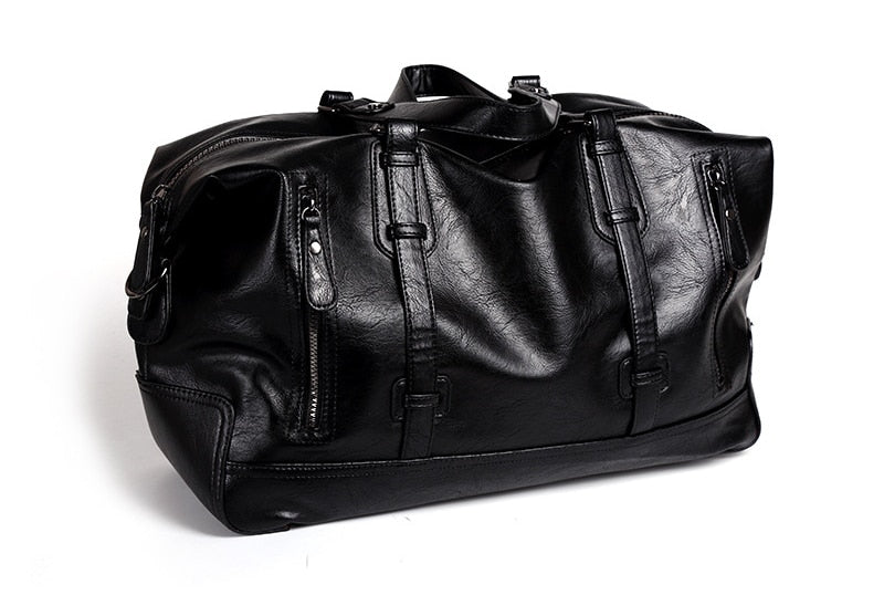 Hastings Leather Weekend Travel Bag