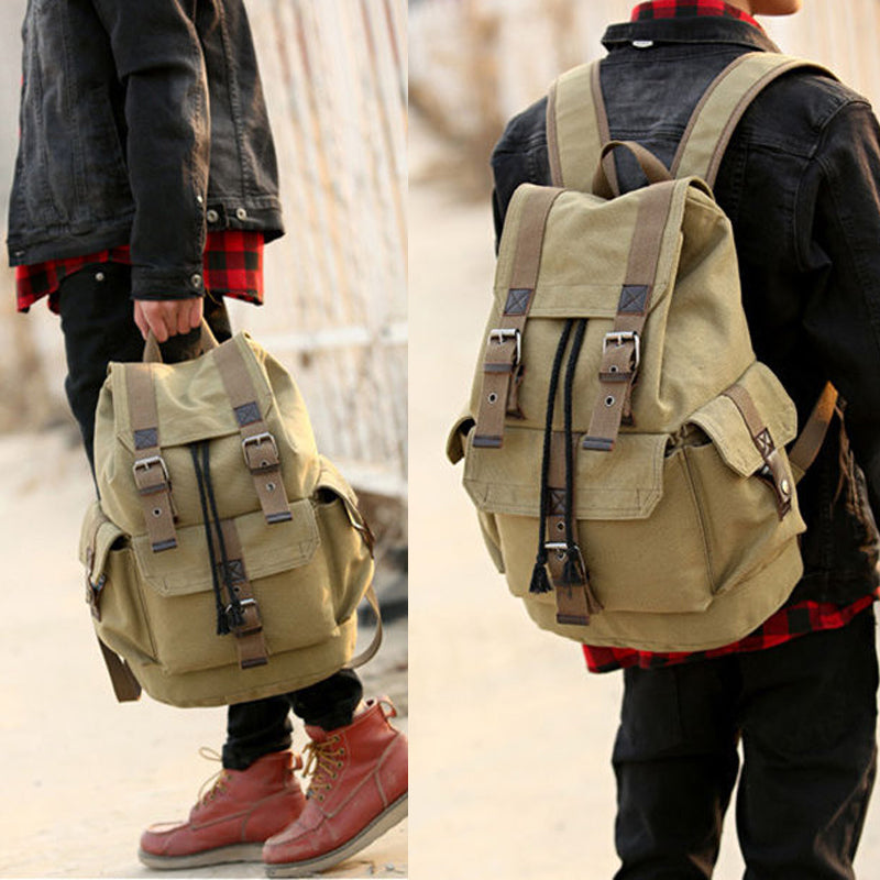 Grayson Canvas Travel Backpack