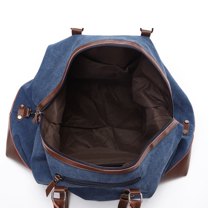 Oxford Canvas Weekend Travel Bag