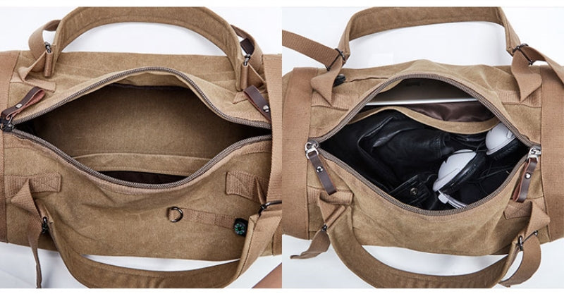 Duncan Canvas Duffle Bag