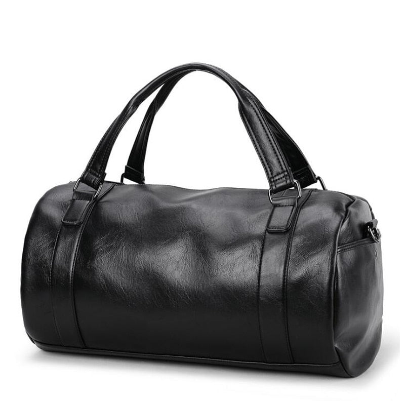 Manhattan Leather City Travel Bag