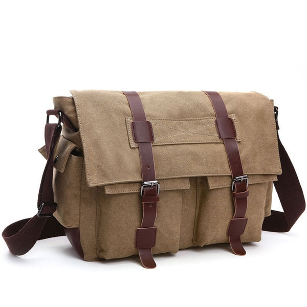 Colorado Canvas Messenger Bag