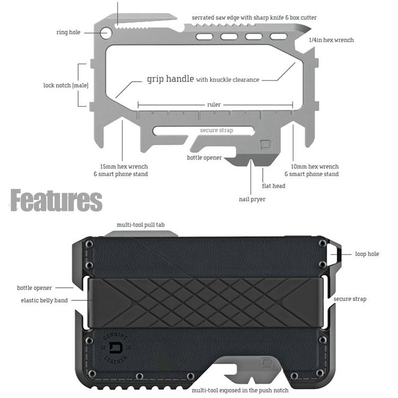 Mason EDC Tactical Card Wallet