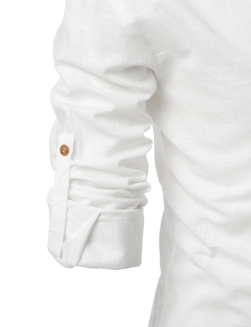 Bali Roll-up Linen Shirt