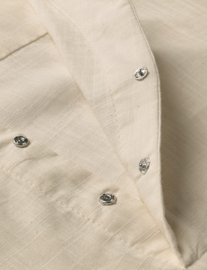 Benji Roll-up Slit Linen Shirt
