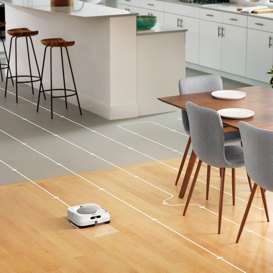 iRobot Braava jet m6 Wi-Fi Connected Robot Mop-Mopping that fits seamlessly into your life