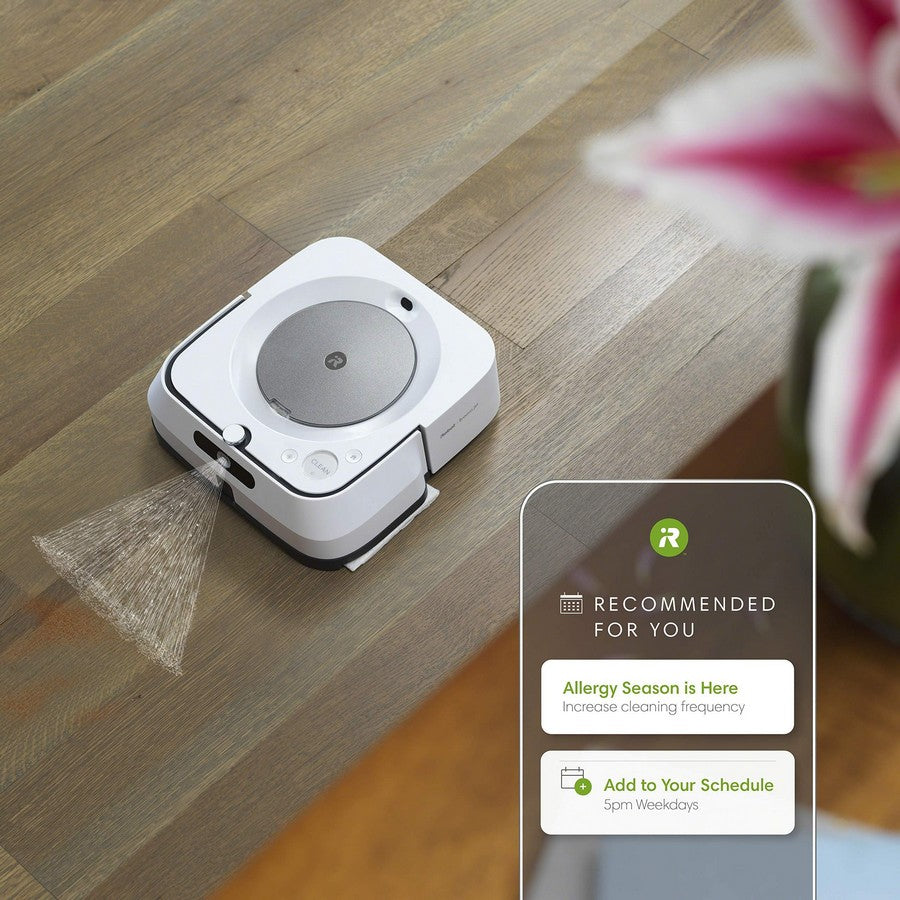 iRobot Braava jet m6 Wi-Fi Connected Robot Mop-A clean unique to you