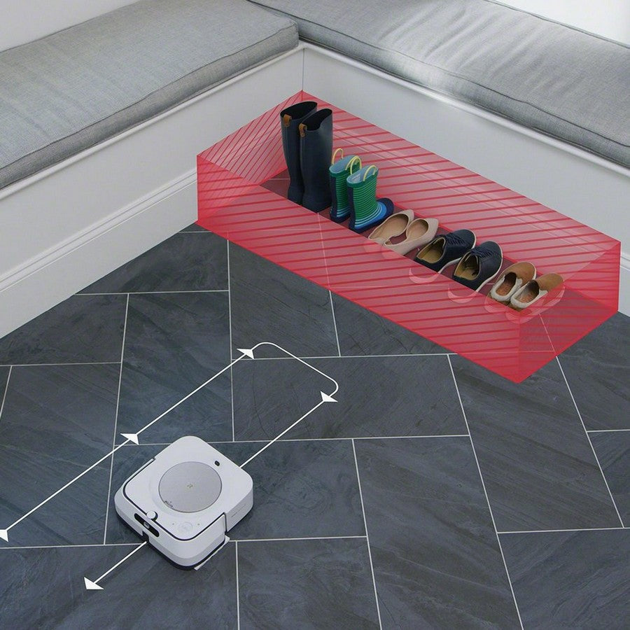 iRobot Braava jet m6 Wi-Fi Connected Robot Mop-Steer clear of objects