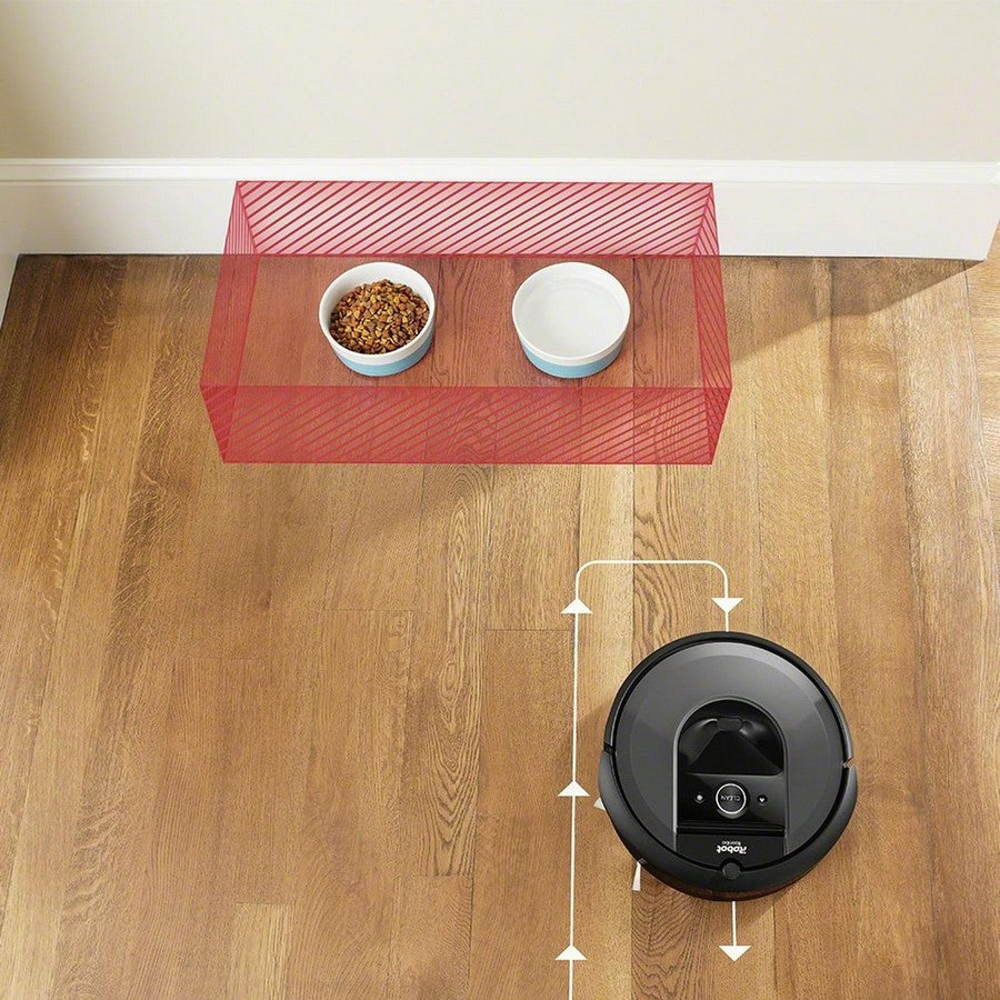 iRobot Roomba i7+ Wi-Fi Connected Self-Emptying Robot Vacuum -Steer clear of objects