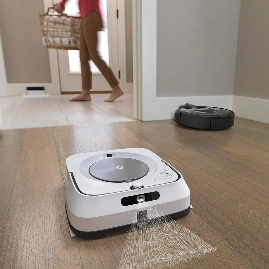 iRobot Roomba i7+ Wi-Fi Connected Self-Emptying Robot Vacuum -The dream team of clean