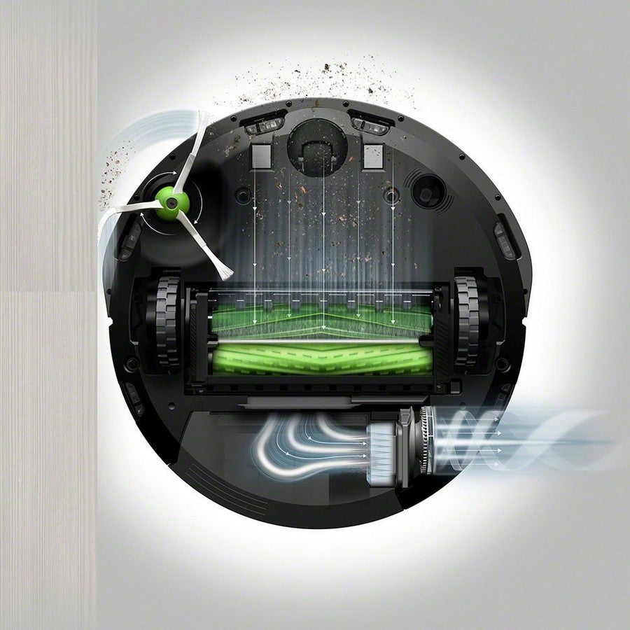 iRobot Roomba i7+ Wi-Fi Connected Self-Emptying Robot Vacuum -Powerful performance and powerful pick-up