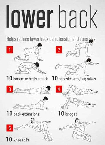 4 Tips to Prevent Lower Back Pain