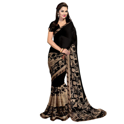 Designer Georgette Saree with Blouse Piece