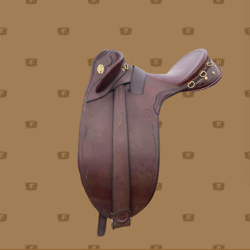 Australian Stock Saddle | John Lordan Horseman | Hair Lined Saddle