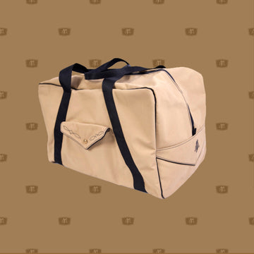 Heavy Duty Waterproof Canvas Saddle Bag  Lined with pure wool blanket to protect your saddle  Reinforced handles  Australian Made