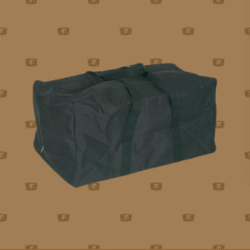 Extra Large Nylon Gear Bag suitable to hold all your riding gear Heavy duty tough nylon gear bag with webbing handles, industrial nylon zipper and Eva Foam lining