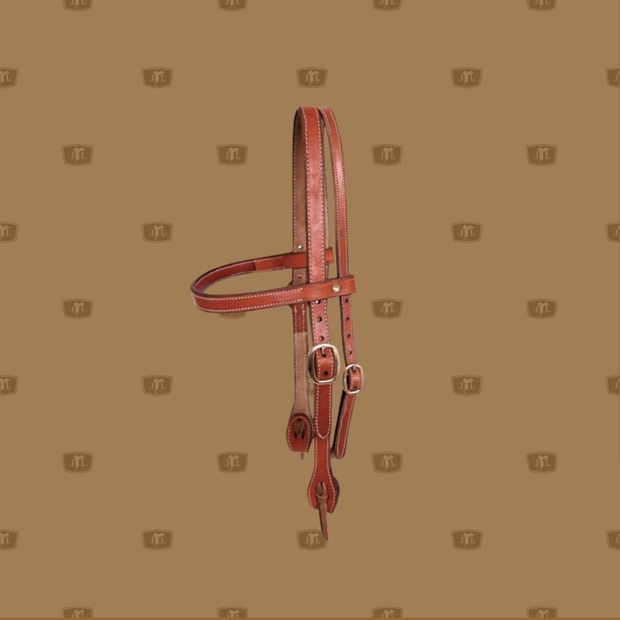 Western Split Head Bridle - Stitched