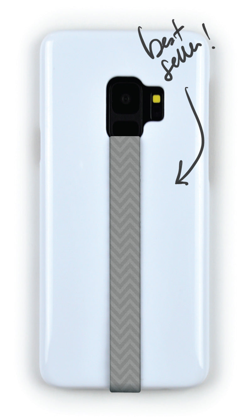 Phone Grip Finger Strap Accessory for Mobile Cell Phone Chevron by Phone Loops