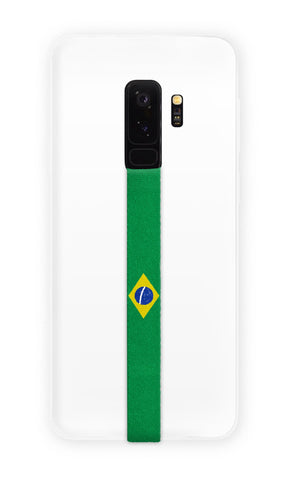 phone strap grip holder brazil green