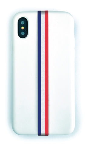 phone strap grip holder france bleu blanc rouge red white blue tricolore drapeau flag paris football soccer