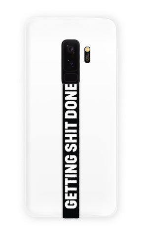 phone strap grip holder gsd getting shit done black white