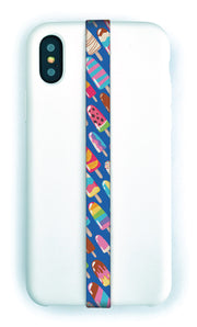 phone strap grip holder ice pop treat frozen summer