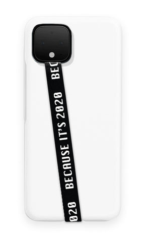phone strap grip holder black white 2020