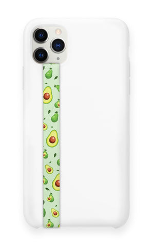 phone strap grip holder avocado green