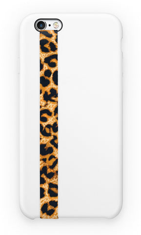 phone strap grip holder leopard jaguar big cat spot fur